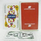 UNITED AIRLINES Deck Playing Cards w/ jokers.