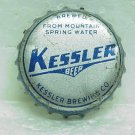 KESSLER BEER Bottle Cap - Kessler Brewing Co. - Helena, MT - cork lined