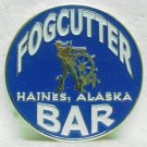 FOGCUTTER BAR Free Drink Token - Haines, AK - Enameled Metal