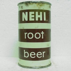 NEHI ROOT BEER Can - Beverages Of Billings - Billings, MT - flat top