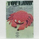 TOY LAND - Coats & Clark's #233 - Knit, Needlepoint & Crochet - ©1973