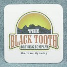 THE BLACK TOOTH BREWING COMPANY Coaster Mat - Sheridan, WY