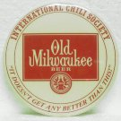 OLD MILWAUKEE BEER Pin - 3 inch - International Chili Society