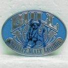 SCHLITZ MALT LIQUOR BULL Pin Pinback - Plastic