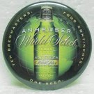 "ANHEUSER WORLD SELECT Beer Pin Pinback - Metal - 2-1/4"" Round"