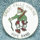 GREAT FALLS SHRINE PIPE BAND Enameled Pin - Great Falls, MT