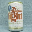 RAINIER LIGHT Beer Can - Rainier Brewing Co. Seattle, WA - 96 Calories - 12 oz.