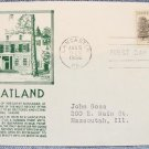 WHEATLAND HOME OF JAMES BUCHANAN 3¢ First Day Cover w/ cachet - 1956