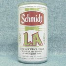 SCHMIDT LA BEER Can - G. Heileman - 11 cities - aluminum - StaTab
