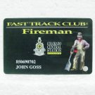 COLORADO CENTRAL STATION CASINO Players Club Card - Black Hawk, CO - Fireman
