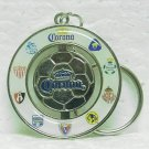 CORONA BEER Keyring - Soccer ball - Mexico - metal