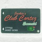 EL CORTEZ Players Club Card - Jackie's Club Cortez - Las Vegas, NV - Fremont St.