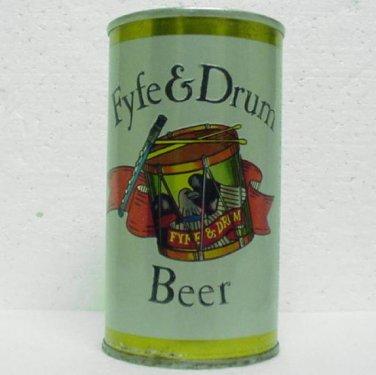 FYFE & DRUM BEER - Genesee Brewing Co. - Rochester, N.Y. - Straight steel - Pull tab