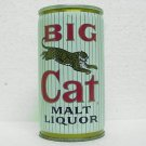 BIG CAT MALT LIQUOR Can - Pabst Brewing Co. 5 Cities - Crimped Steel - Pull tab