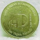 THE D One Dollar Gaming Token - Las Vegas, NV - Fremont St.