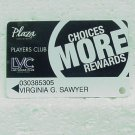 PLAZA  & LAS VEGAS CLUB Hotel & Casino Players Club Card - Fremont St. Downtown Las Vegas, NV