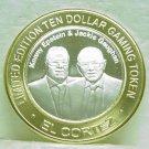 EL CORTEZ $10.00 Gaming Token Silver Strike - Epstein & Gaughan - Fremont St. Las Vegas, NV