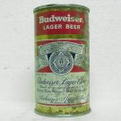 BUDWEISER LAGER BEER Can - Anheuser-Busch - St. Louis, MO - flat top - 12 oz. - 1 label