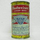 BUDWEISER LAGER BEER Can - Anheuser-Busch - 3 cities - flat top - 12 oz. - 2 labels