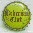 BOHEMIAN CLUB Beer Bottle Cap / Crown - Spokane, WA - Cork lined - used