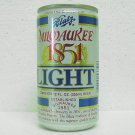 BLATZ 1851 LIGHT Beer Can - Blatz Brewing Co. - 10 cities - 12 oz.