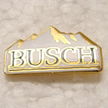 BUSCH BEER Enameled Pin - Mountains - Anheuser-Busch - Tiny thing