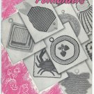 STAR POTHOLDERS Book #55 - American Thread Co. - © 1947 - Recipes
