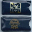 2 PABST BLUE RIBBON BEER Plastic Rain Bonnets - Milwaukee, WI - PBR