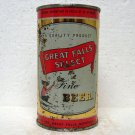 GREAT FALLS SELECT FINE BEER Can - Great Falls Breweries - Great Falls, MT - flat top