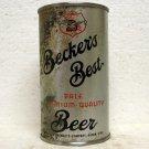 BECKER'S BEST BEER Can - Becker Products - Ogden, UT - OI - IRTP - Flat top - 12 oz.