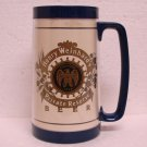HENRY WEINHARD'S PRIVATE RESERVE BEER Mug - Plastic - Thermo Serv - Blitz Weinhard Co. - Made in USA