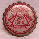 SHERIDAN Beer Bottle Cap Crown - Cork lined - unused - Sheridan Brewing Co. - Sheridan, WY