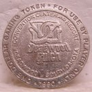 DEADWOOD GULCH Convention Center $1.00 Gaming Slot Token - Deadwood, SD - Metal - 1990