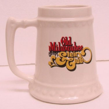 OLD MILWAUKEE STEIN CLUB Beer Mug Stein - Ceramic - Scotty's Growler Club