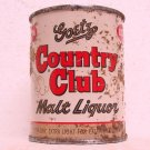 GOETZ COUNTRY CLUB MALT LIQUOR Can - M. K. Goetz Brewing Co. - St. Joe, MO - 8 oz. - Flat top