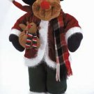 Posable Plush Rudolph The Reindeer