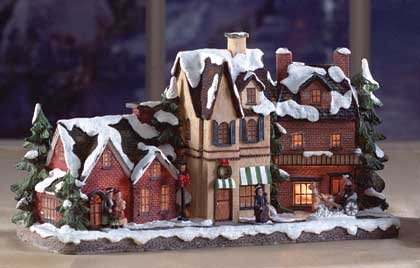 Light Up Christmas Village Street