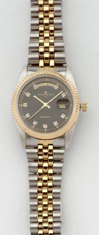 Hourglass Stainless Steele Men's Watch Quartz