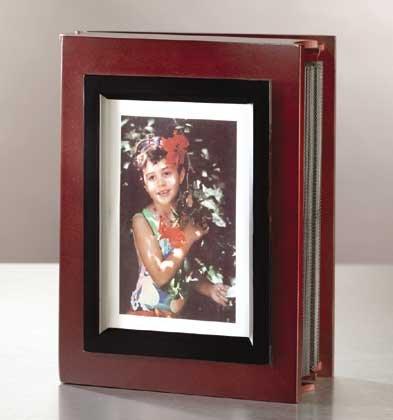 Cherry Wood Photo Album