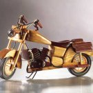 Wood Motorcycle Model Chopper