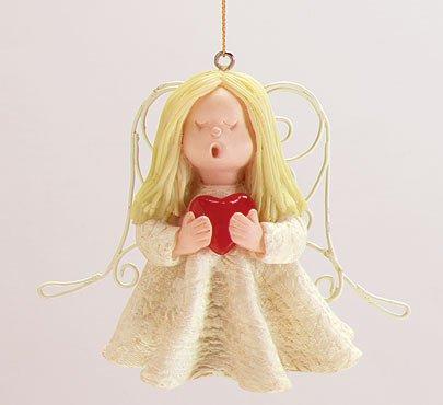 Singing Angel Christmas Tree Ornament Set Of 6