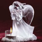 Devout Angel Candle Holder