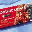 Musical 140 Count Christmas Tree Light Set