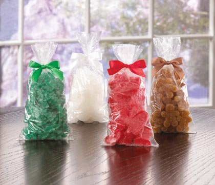 Christmas Shapes Wax Potpourri Chips Set Of 4 Packs