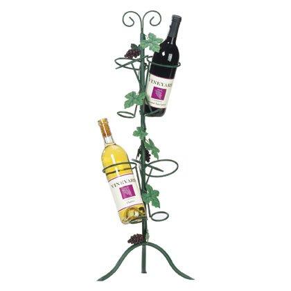 Metal Grapes Wine Bottle Holder