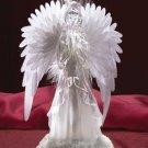 Fiber Optic Praying Angel