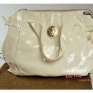Gucci Hysteria Large-Size Patent Leather Zip Tote Handbag
