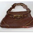 Gucci Brown Borsa Pelham Grommet Runway Handbag
