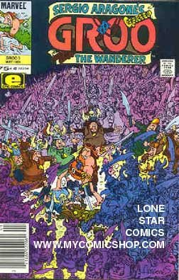 Groo the Wanderer (1985 Marvel) 3