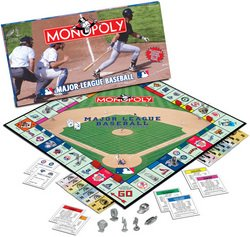 MLB Collector's Edition Monopoly  MSRP $36.00